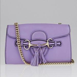 Gucci Smooth Calfskin Mini Emily Chain bag